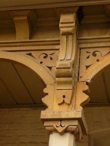 Ireson Project - Before Restoration - Brackets